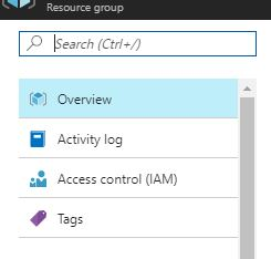 Azure Resource Tags